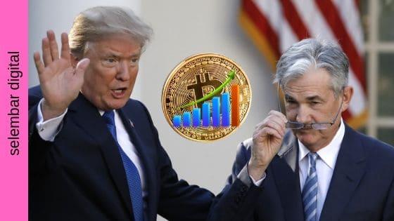 Ketidakpercayaan, bukan Investasi, adalah Bullish untuk Bitcoin, Terutama Dari Trump dan Ketua Federal Reserve AS