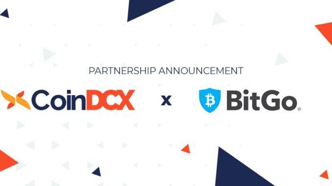 BitGo CoinDCX