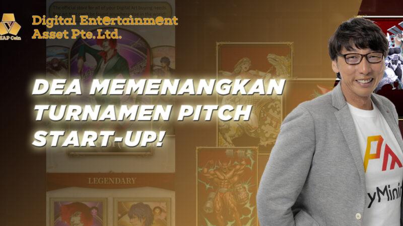DEA Memenangkan Turnamen Pitch Start-up!