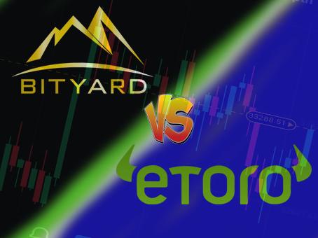 Perbandingan Bityard dan eToro di tahun 2021