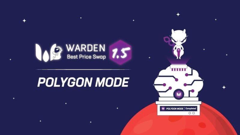WardenSwap Perluas Jaringan ke Polygon!